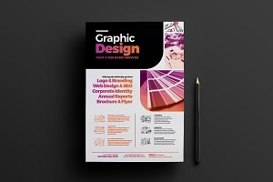 Graphic Designer Poster Template 4