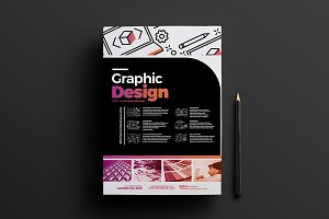 Graphic Designer Poster Template 5