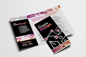 Graphic Designer Trifold Brochure