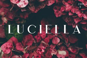 Luciella | A Poetic Font Family