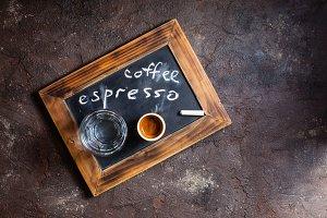 Coffee espresso for gourmet