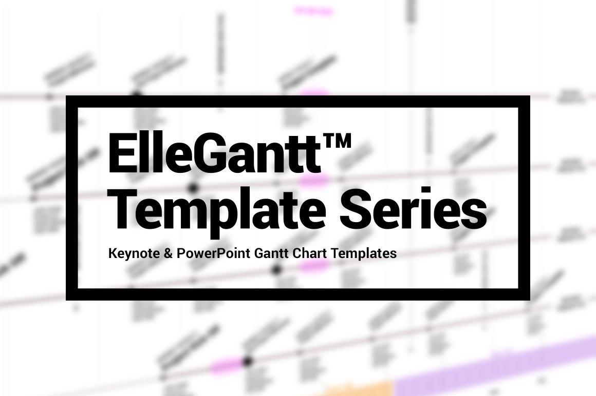 Gantt Chart Presentation Template Presentation Templates