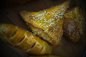 Traditional georgian pastry