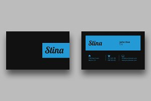Business Card Template - SK