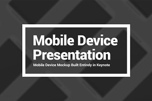 Mobile Mockup Presentation Template