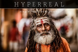 Hyperreal Warm Lightroom Preset