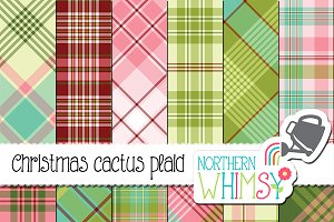 Plaid Christmas Patterns