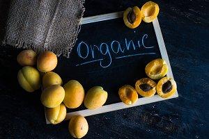 Organic summer fruits