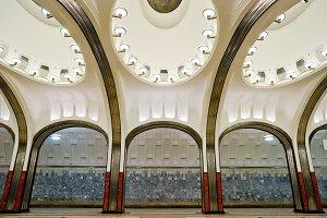 Metro station Mayakovskaya
