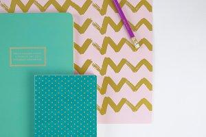 File folder + notebooks