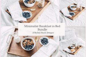 Breakfast In Bed ~ Stock Photo