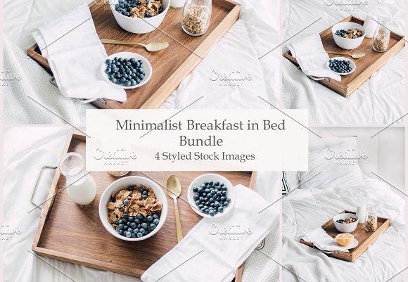 Breakfast In Bed ~ Stock Photo