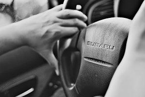 Driving a Subaru