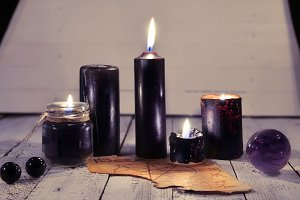 Black candles 2