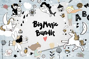 Big magic bundle/Sale 70%