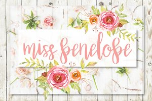Miss Penelope Script Font