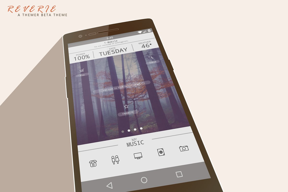 Reverie An Android Theme