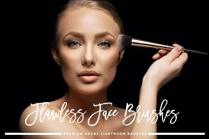 Flawless Face Lightroom Brushes