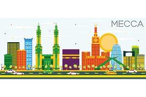 Mecca Skyline