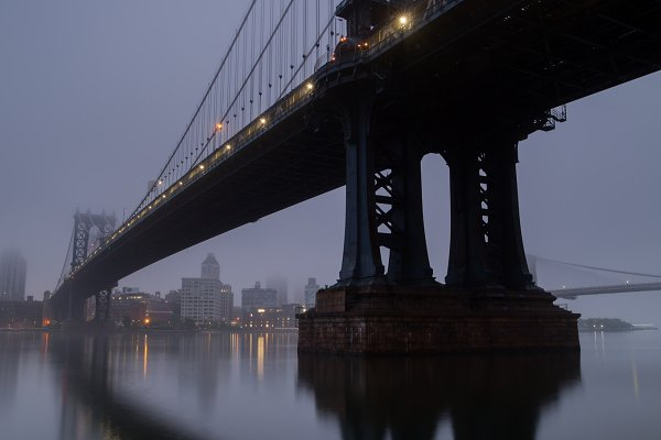 Industrial Stock Photos: MentlaStore - Manhattan bridge
