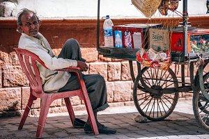 Streetside Vendor