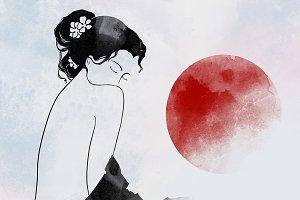 young geisha | JPEG