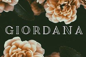 Giordana | Font Family