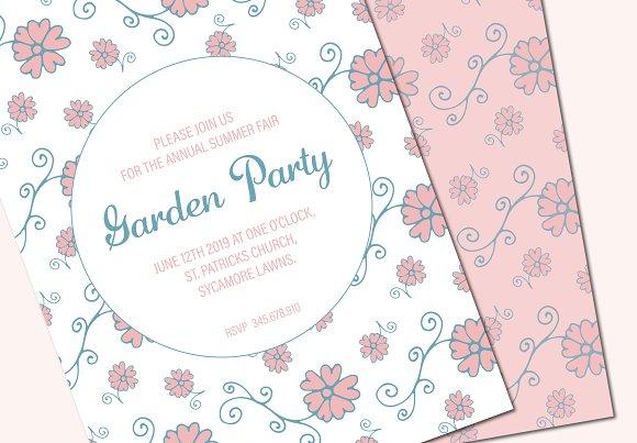 Party Poster Leaflet Mockup