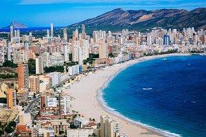City on the beach