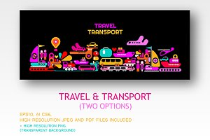 Travel and Transport (2 options)