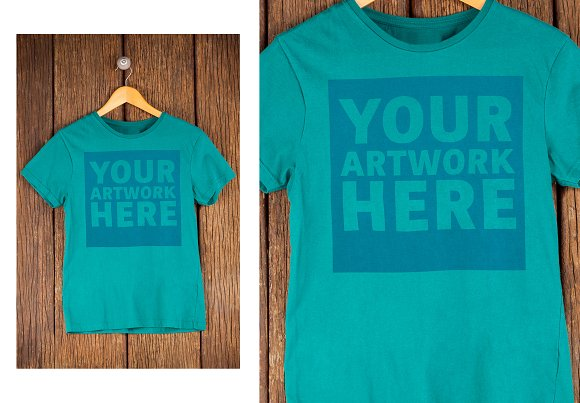 T-Shirt With Graphic Mockup