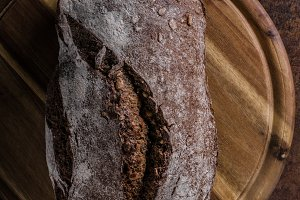 Wholegrain rustic bread