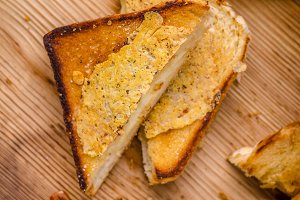 Cheese sandwich grilled
