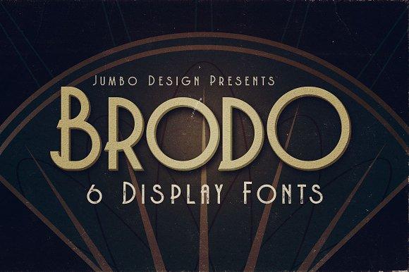 Brodo Display Font