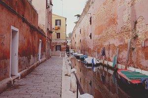 Local Venice water street