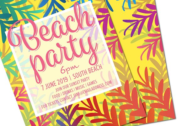 Party Invite Poster