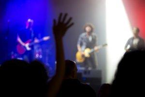 rock band live concert