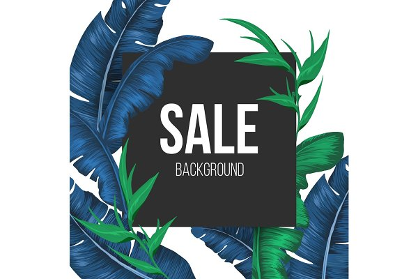 Sale promo banner background with e…