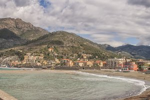 Levanto on the coast