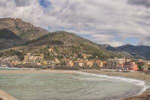 Levanto on the coast