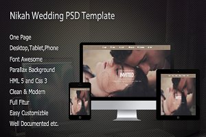 Nikah Wedding Muse Template