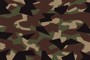 green geometric camouflage