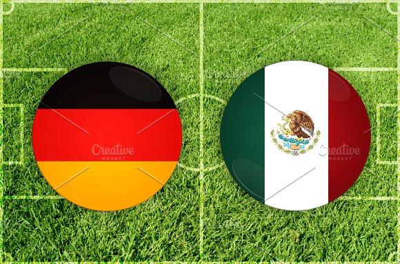 Germany Vs Mexico Football Match