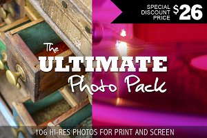 Ultimate Photo Pack - 107 HR pics