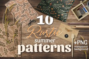 Rustic summer patterns