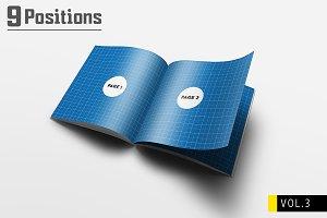 Square Brochure Mockups V.3