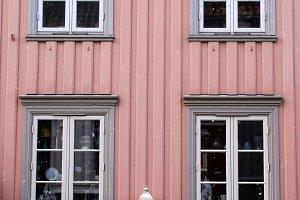 rosé house in Norway