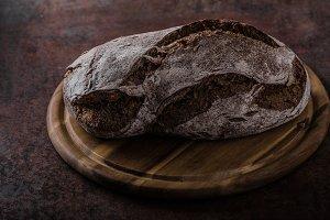 Wholegrain rustic bread