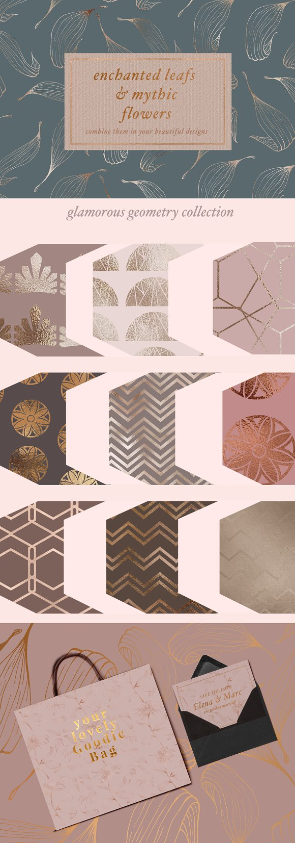 Gold Patterns Illustrations Patterns Creative Market - Graphic design invoice template word michael kors outlet online store