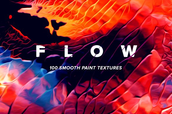 Flow: 100 fluid abstract pa-Graphicriver中文最全的素材分享平台